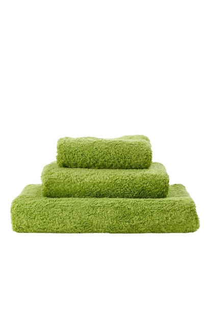 Super Pile Apple Green Towels