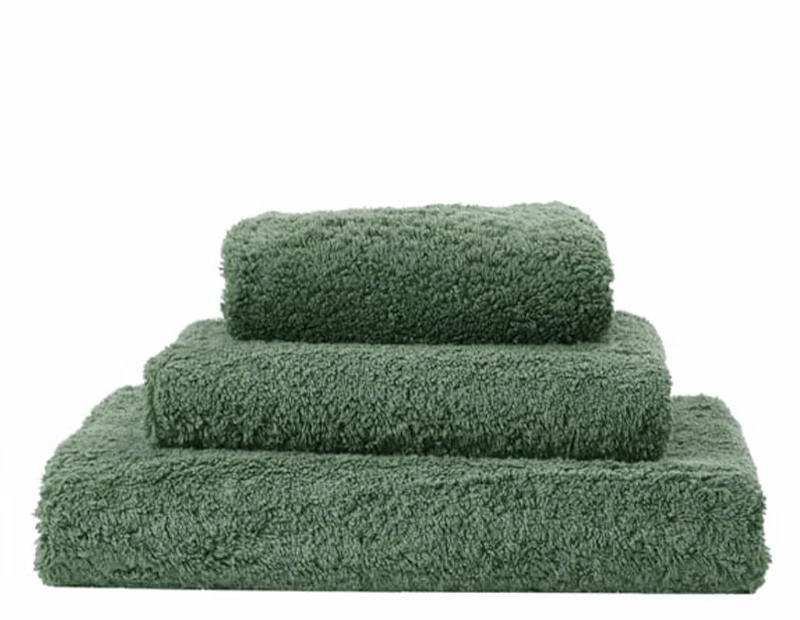 Super Pile Evergreen Towels-1