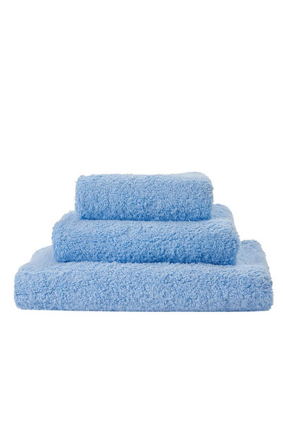 Super Pile Powder Blue Towels