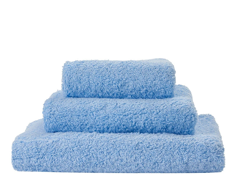 Super Pile Powder Blue Towels-1