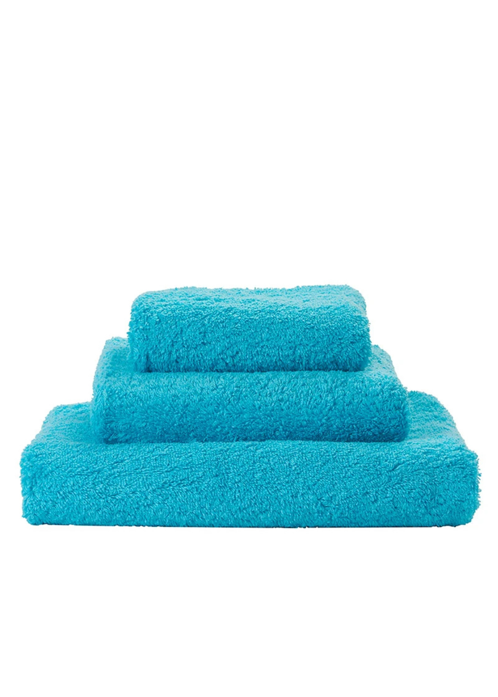 Abyss & Habidecor Super Pile Turquoise Towels