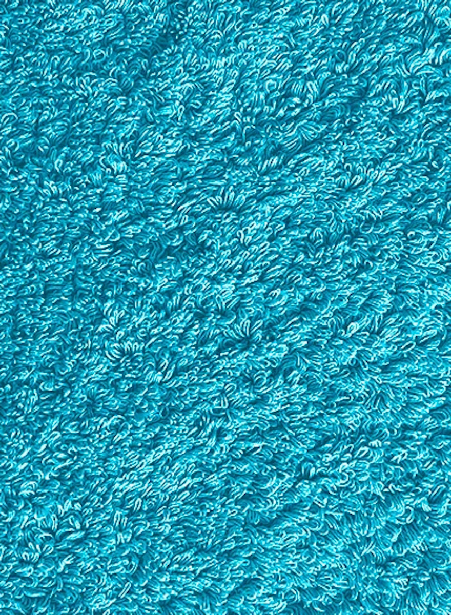 Super Pile Turquoise Towels-2