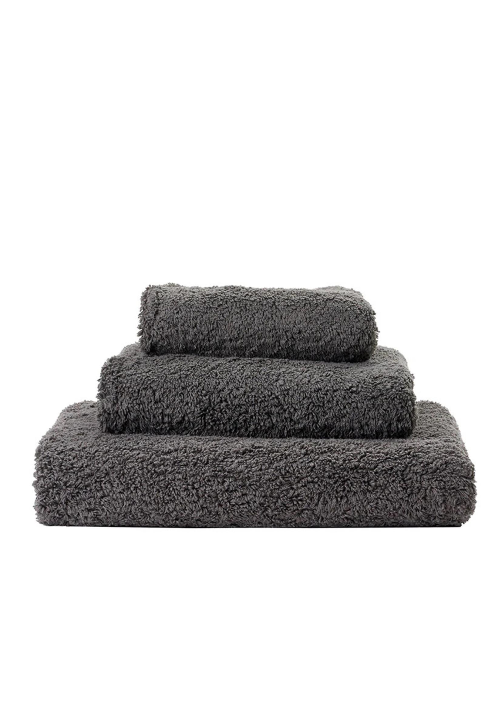 Abyss & Habidecor Super Pile Gris Towels