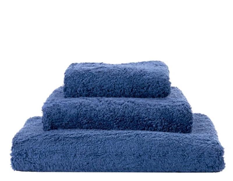 Super Pile Cadette Blue Towels-1