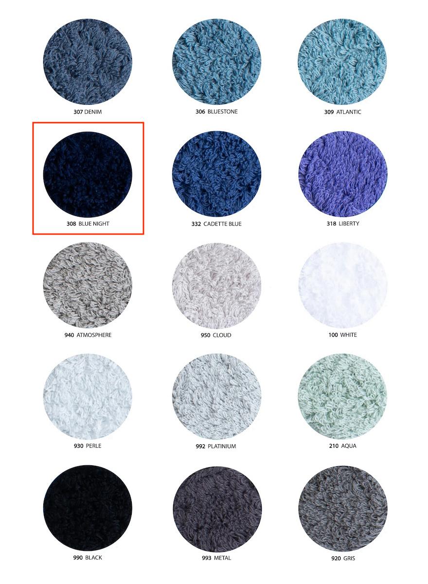 Super Pile Blue Night Towels-3
