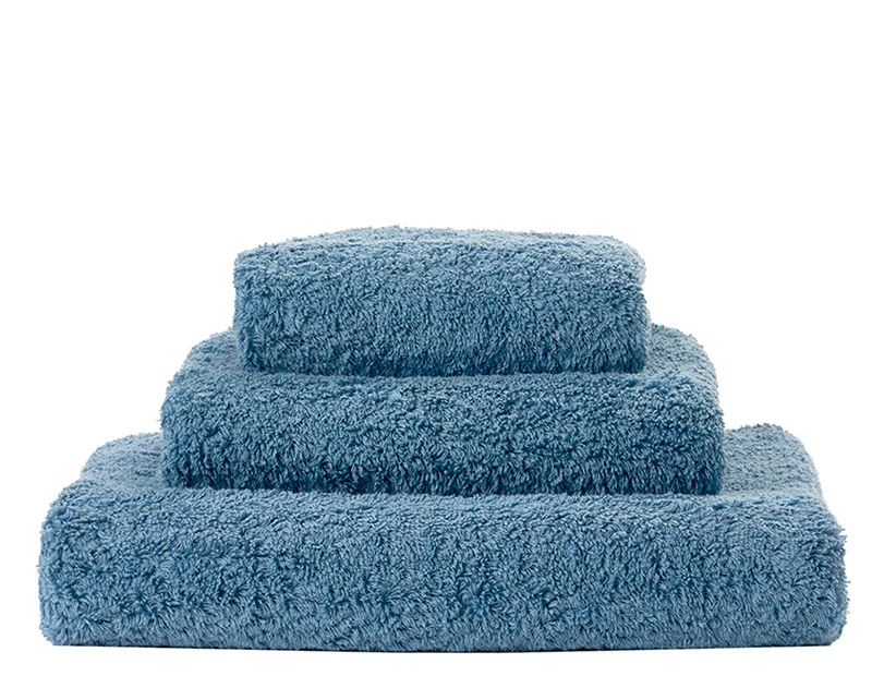 Super Pile Bluestone Towels-1