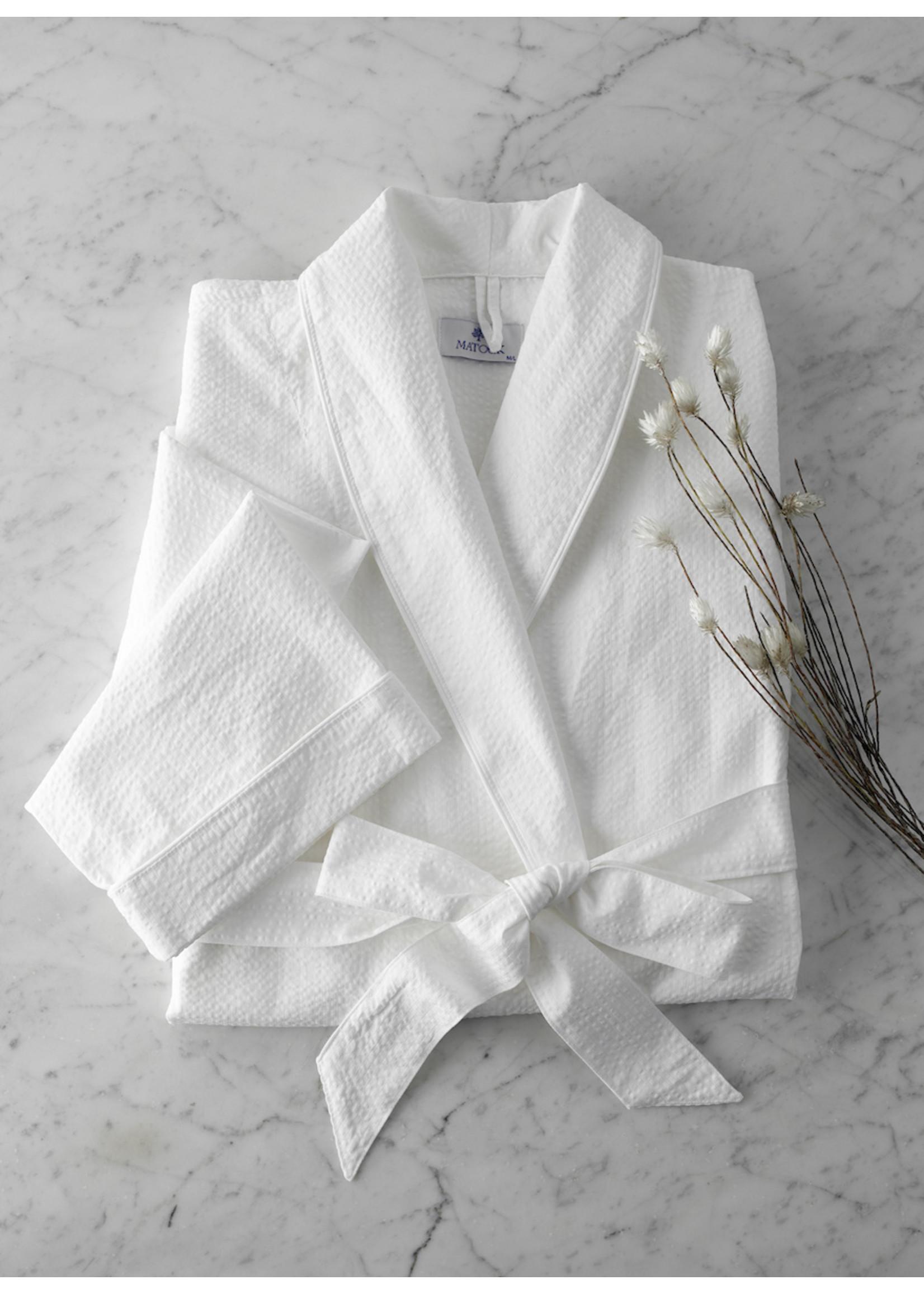 Matouk Seersucker Robe