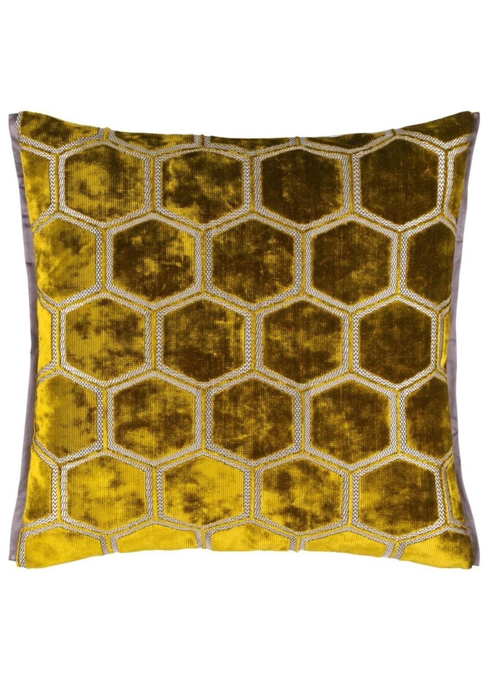 Designers Guild Manipur Ochre Pillow