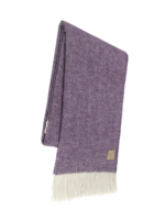 Lands Downunder Plum Herringbone Throw