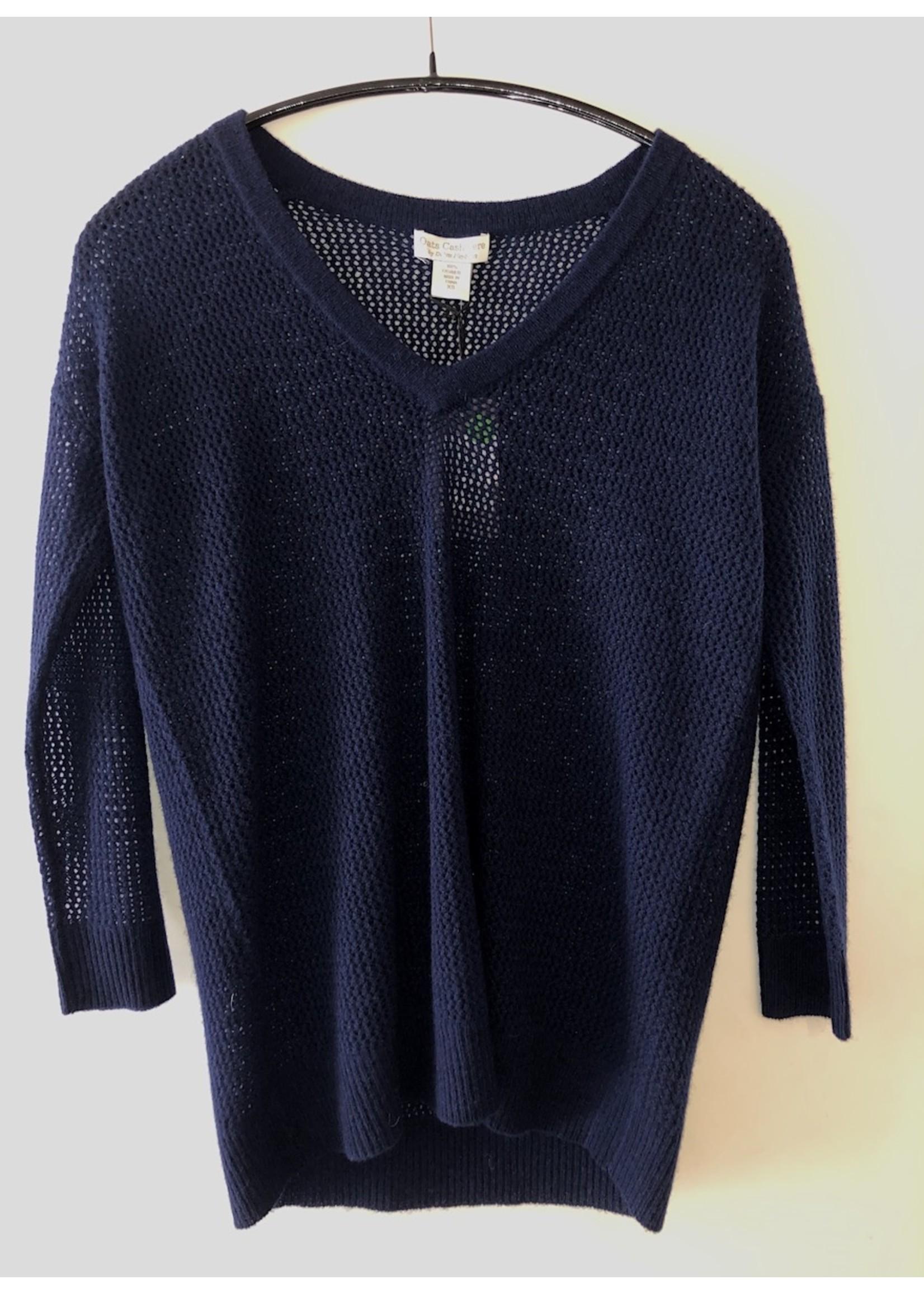 Oats Cashmere Kittie Cashmere Sweater