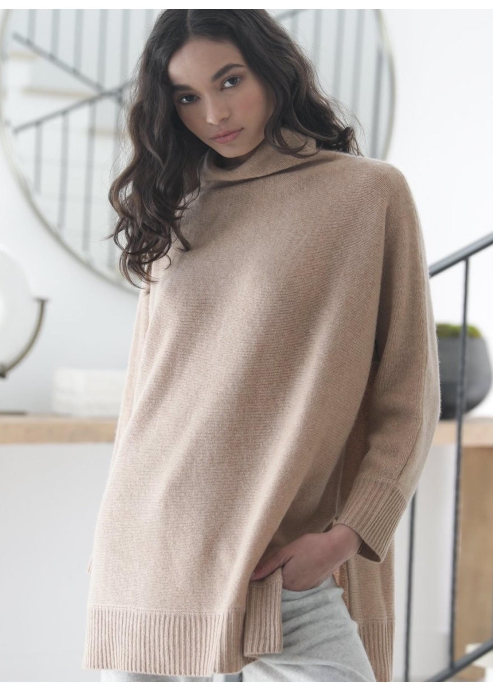 Oats Cashmere Oats Cashmere Estella Oversized Cashmere Pullover