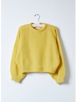 Atelier Delphine Dijon Balloon Sleeve Sweater