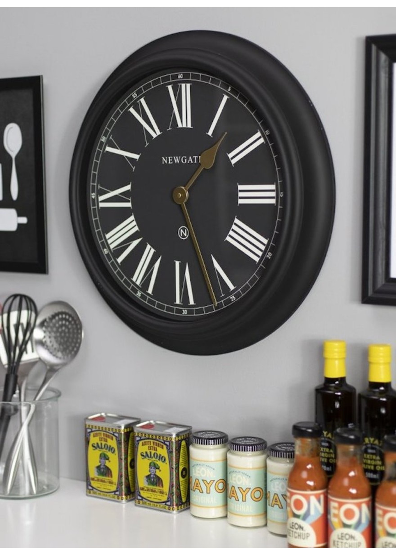 Newgate Newgate Chocolate Shop Wall Clock