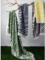 Matouk Zebra Palm Beach Towels