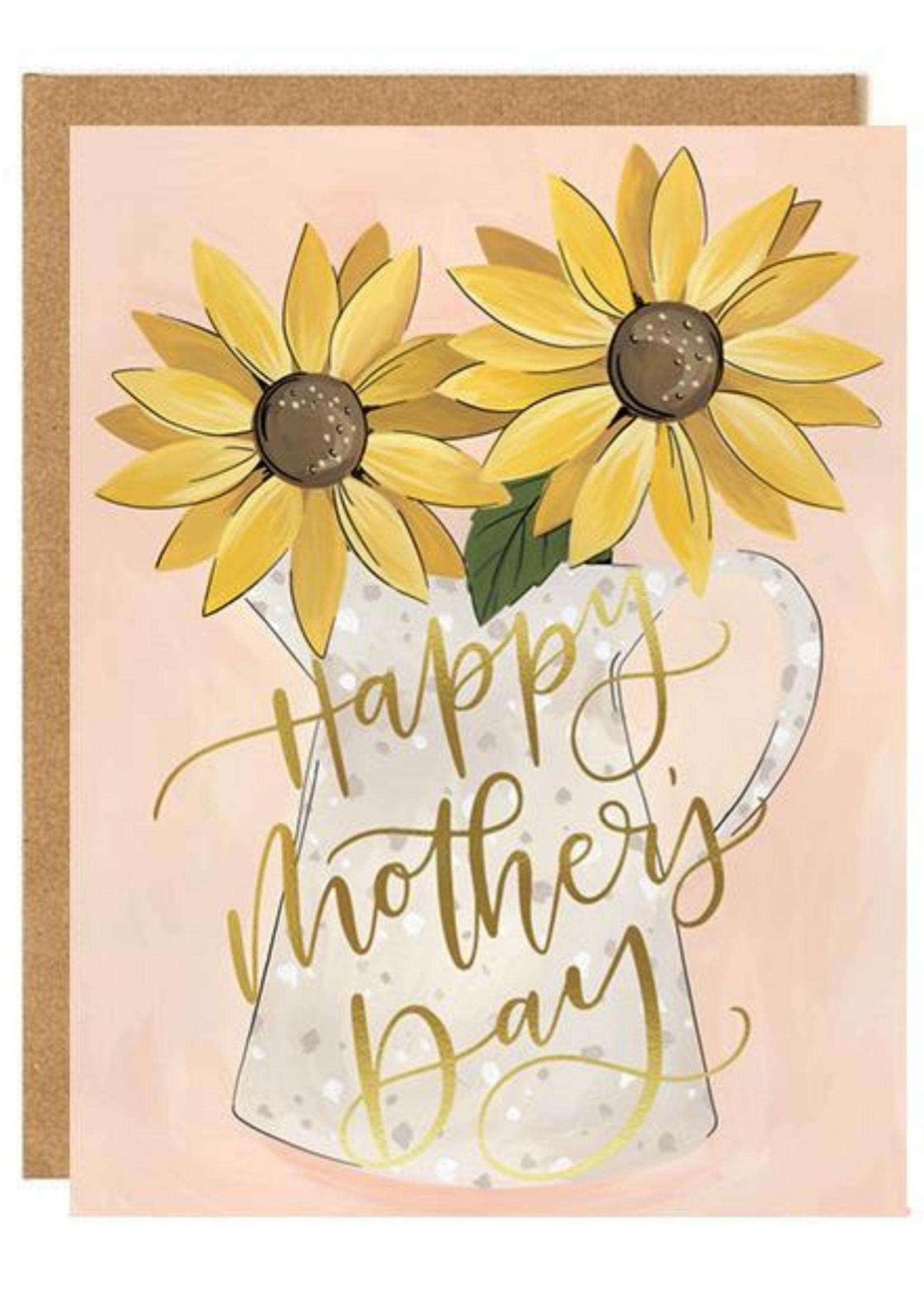 1 Canoe 2 Sunflower Mother's Day Card