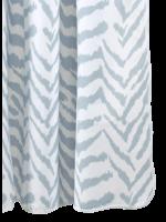Matouk Quincy Zebra Shower Curtains