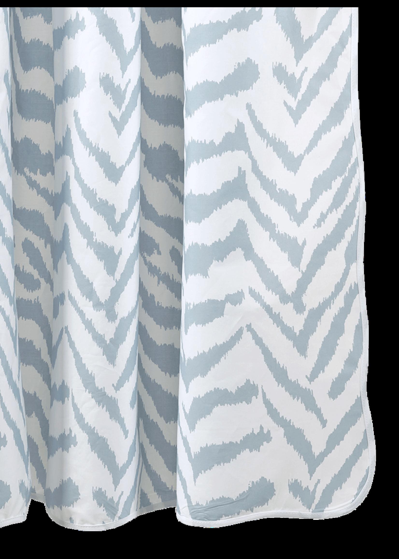 Matouk Matouk Quincy Zebra Shower Curtains