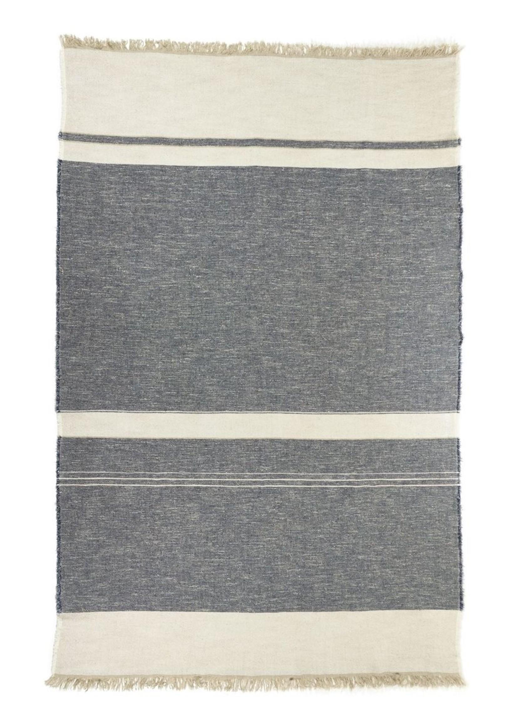 Libeco Libeco North Sea Stripe Linen Throw