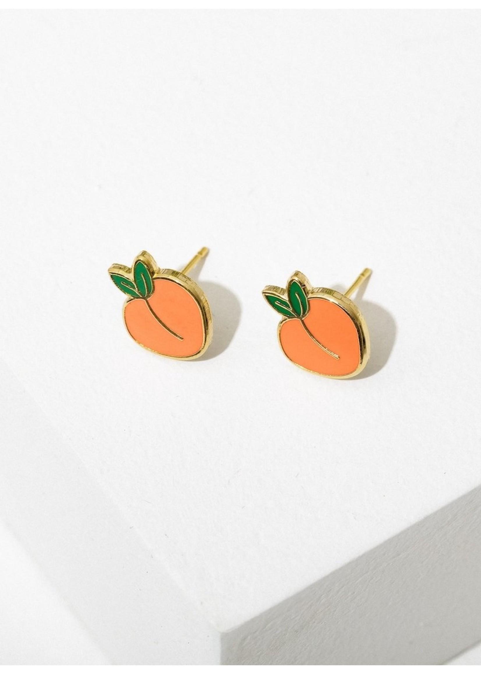 Larissa Loden Larissa Loden Peach Post Earrings