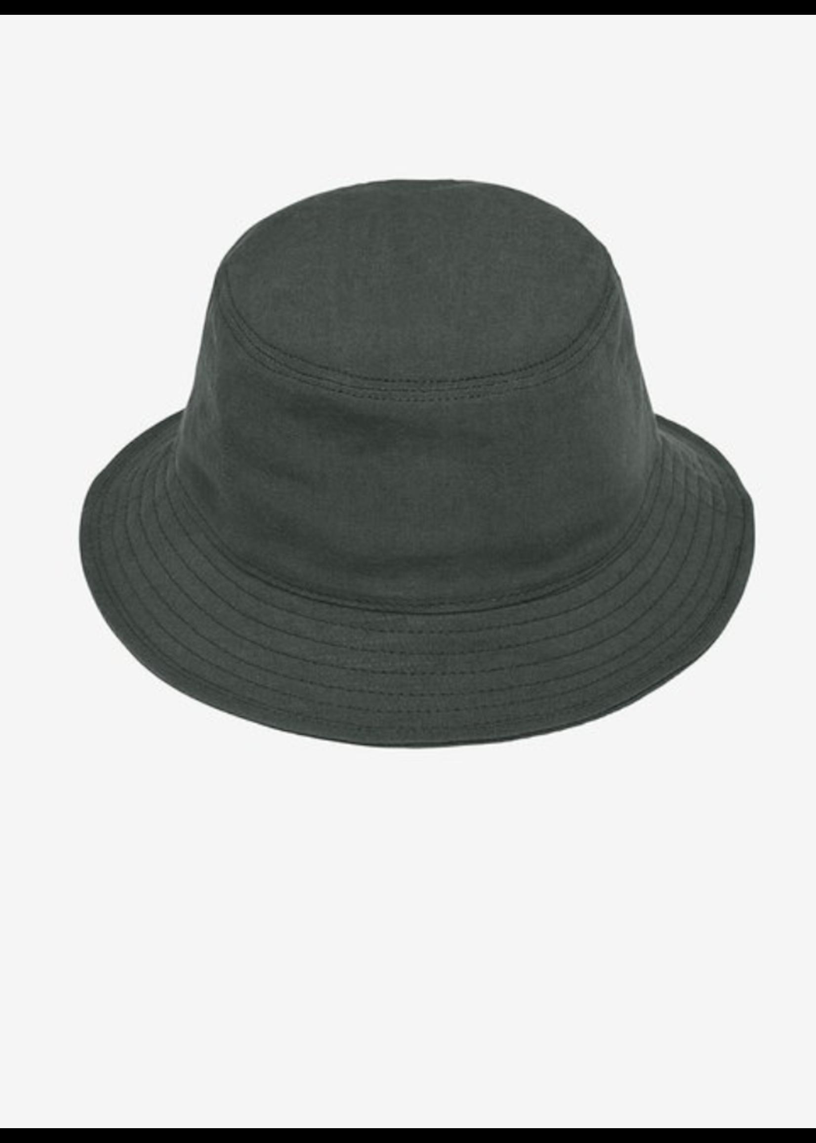 Blluemade Blluemade Jade Green Linen Bucket Hat