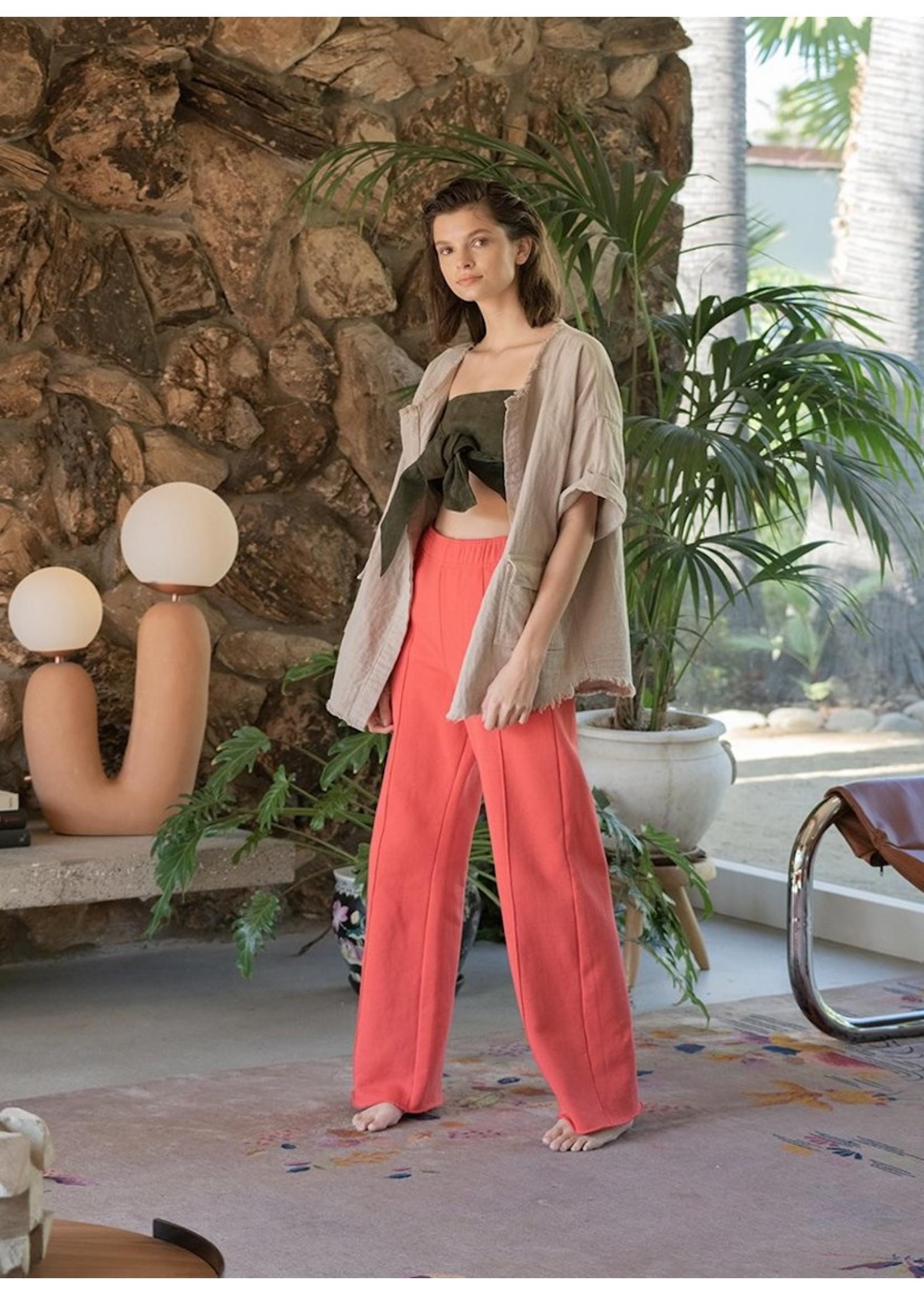 Atelier Delphine Atelier Delphine Serena Vintage Red Sweat Pant