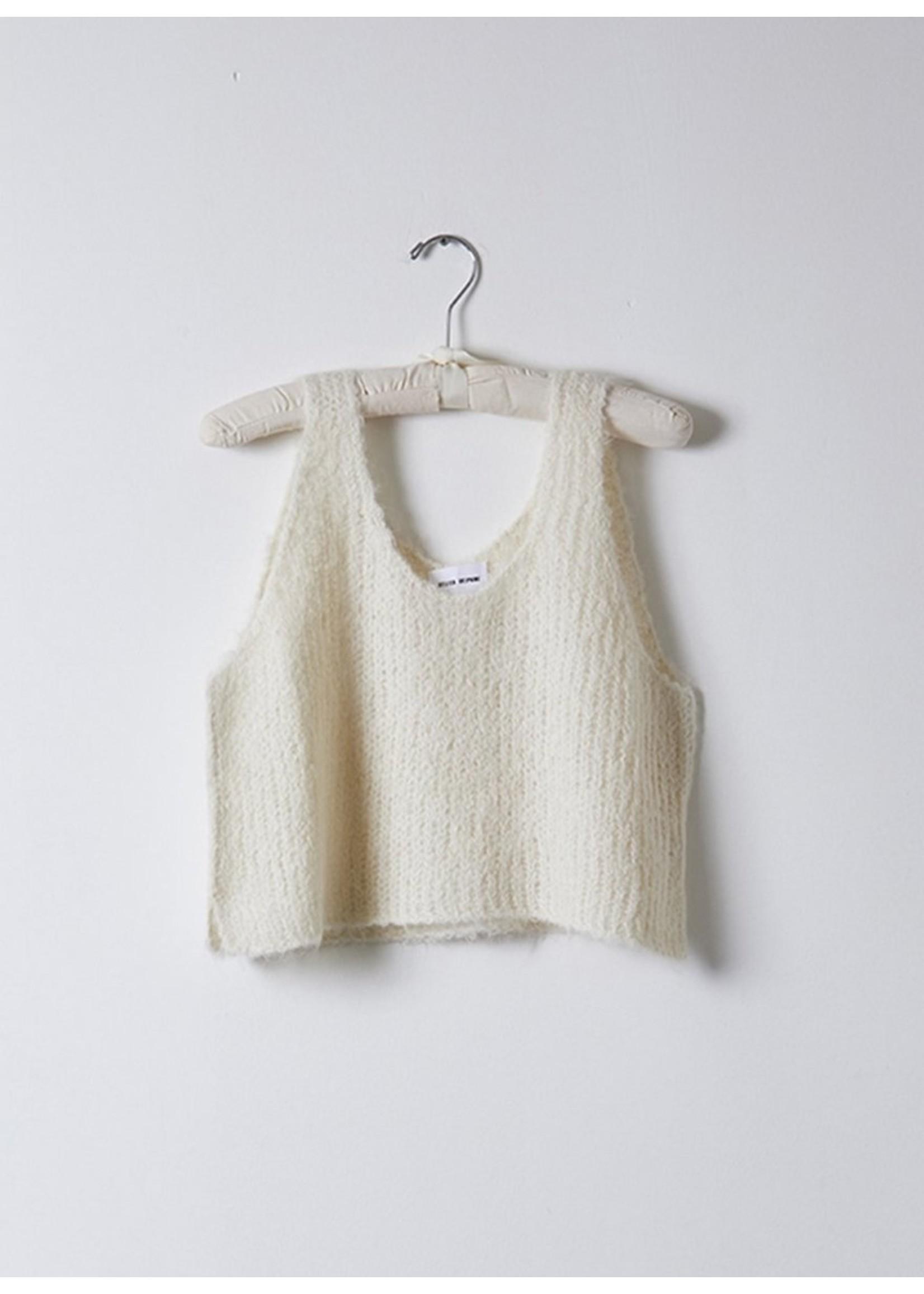 Atelier Delphine Atelier Delphine Cream Sweater Tank
