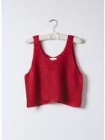 Atelier Delphine Ruby Red Sweater Tank