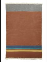 Libeco Redwood Stripe Linen Throw