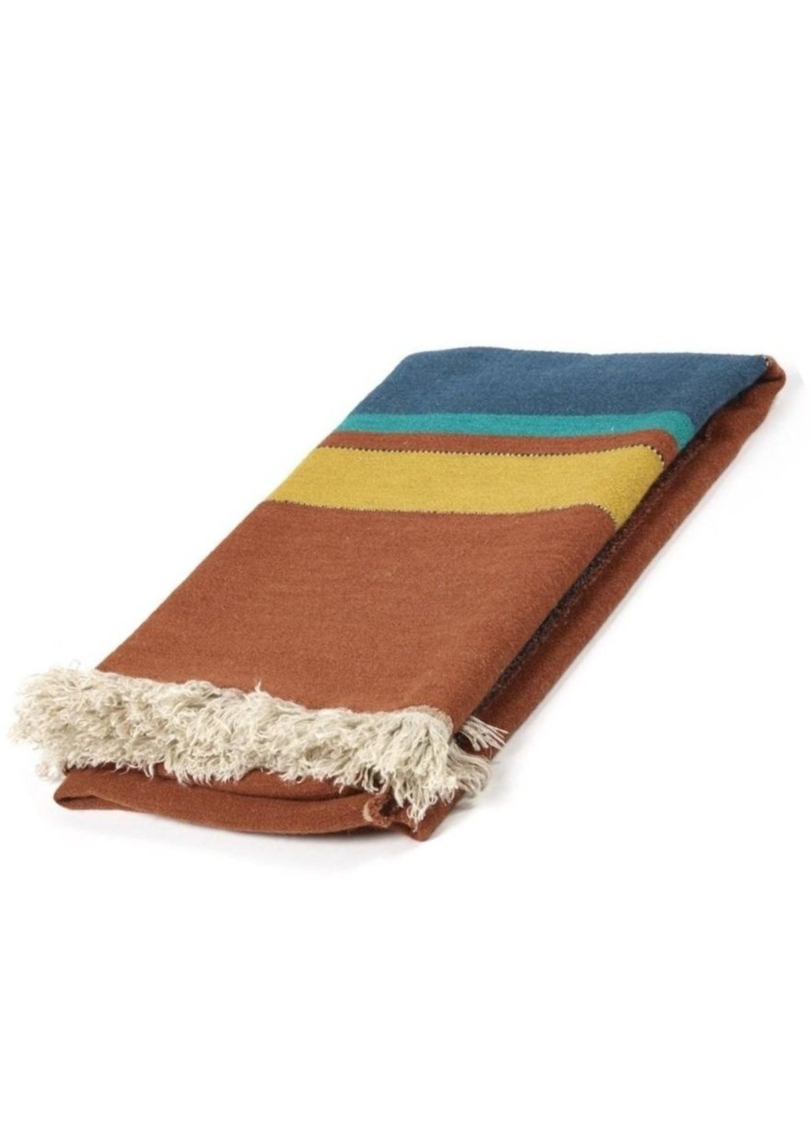 Libeco Libeco Redwood Stripe Linen Throw