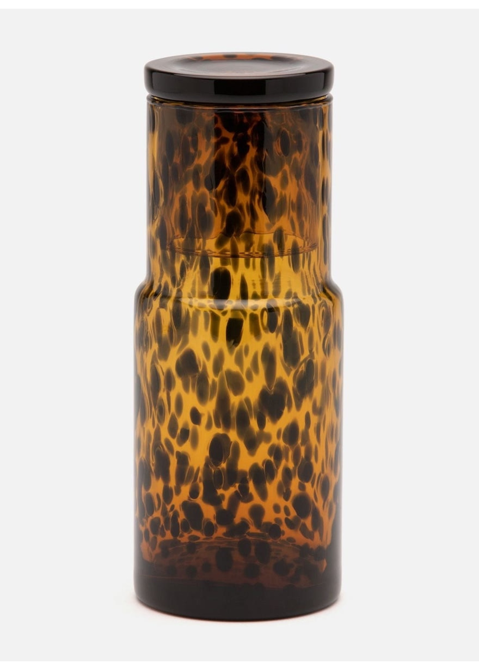 Pigeon & Poodle Pigeon & Poodle Faro Tortoise Shell Water Carafe