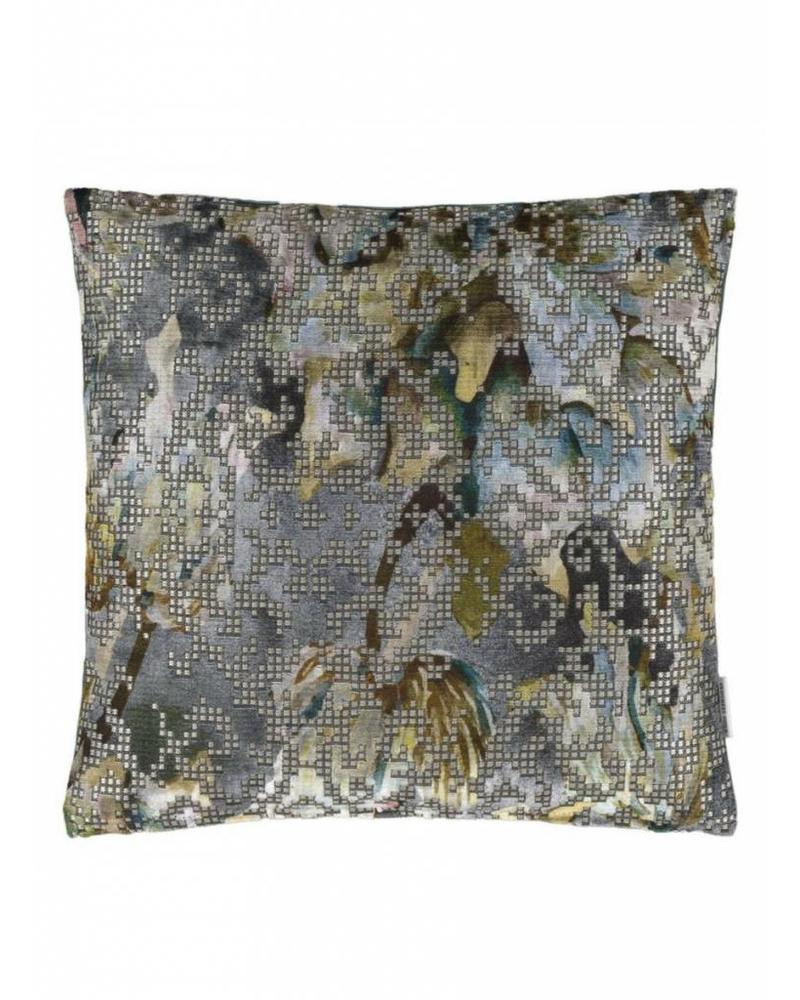 Designers Guild Bardiglio Zinc Pillow