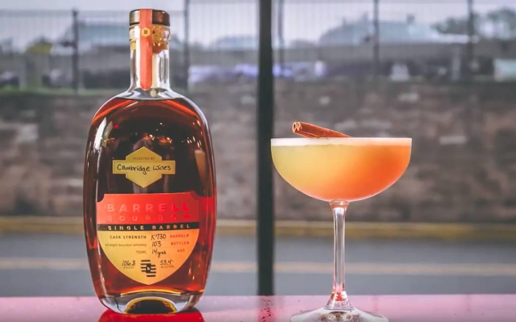 Mixology: Cinnamon Bourbon Sour