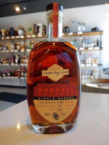 Barrell Bourbon Single Barrel #K730
