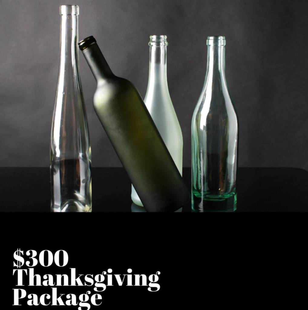 $300 Thanksgiving Wine Package
