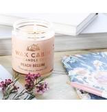 Wax Cabin Candle - Peach Bellini