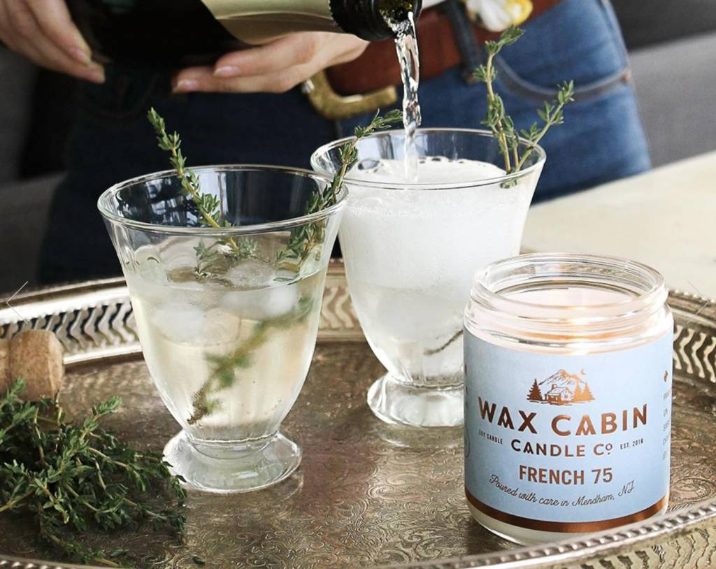 Wax Cabin Candle - French 75