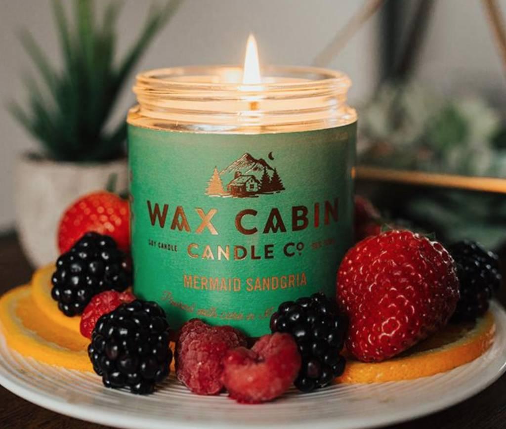 Wax Cabin Candle Mermaid Sandgria