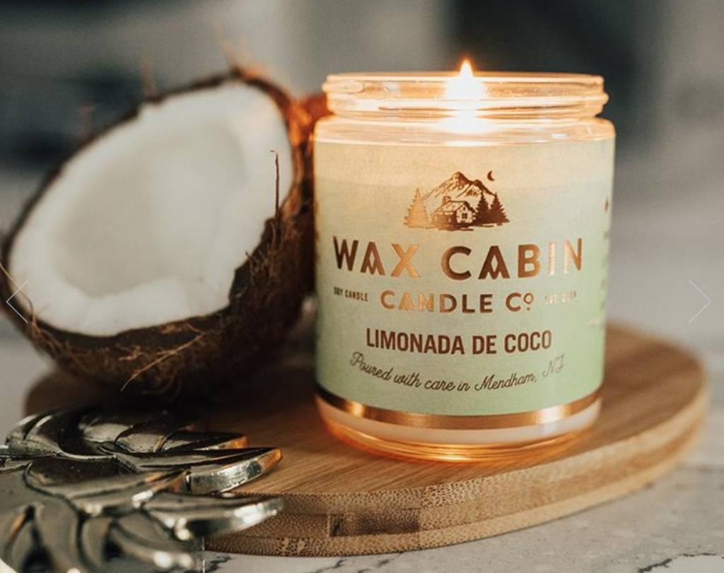 Wax Cabin Candle - Limonada De Coco