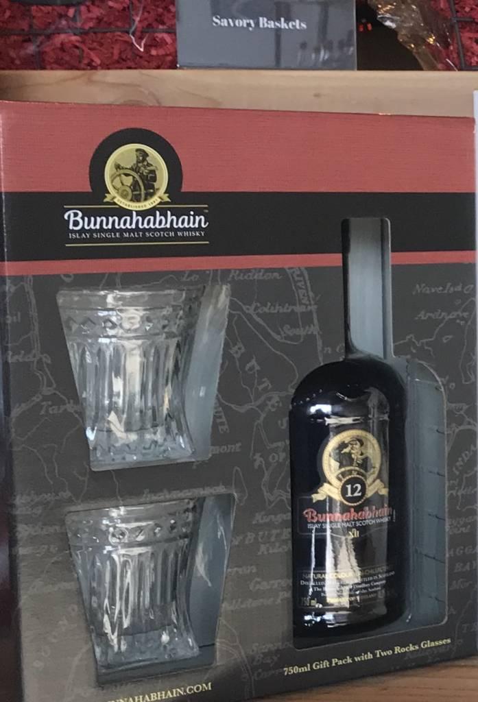 Bunnahabhain 12 Year Gift Pack 750ml