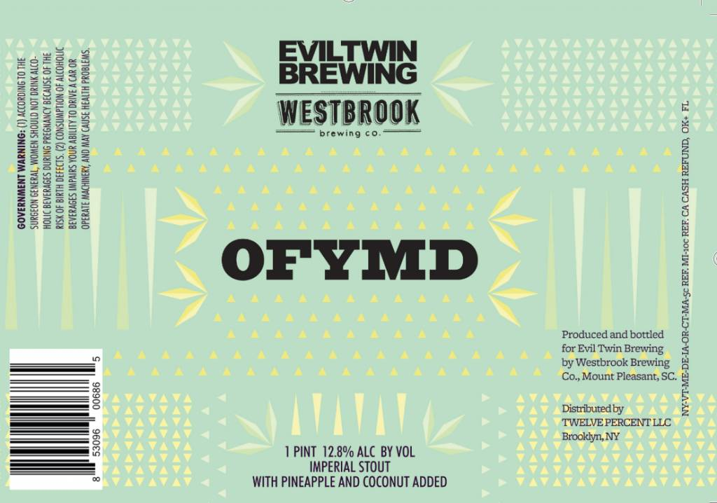 OFYMD Stout ( 16 oz can)