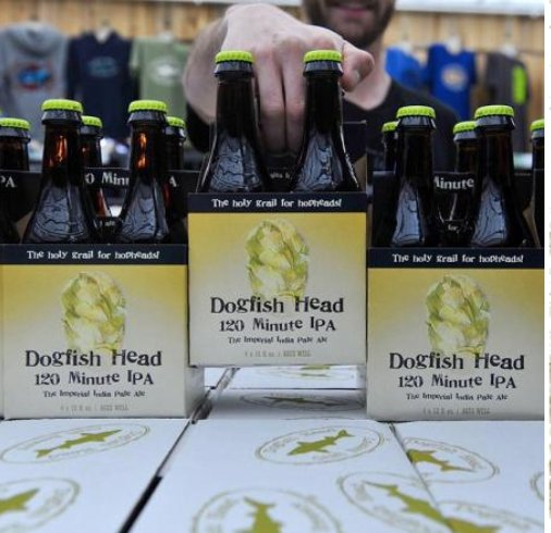 Dogfish Head 120 Minute 2018 (single bottle)