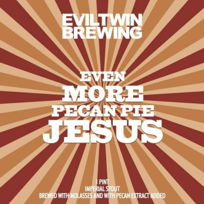 Evil Twin Even More Pecan Jesus (4pk 16oz cans)