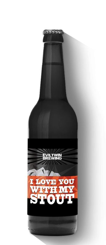 Evil Twin I Love You Stout (4pk 12oz bottles)