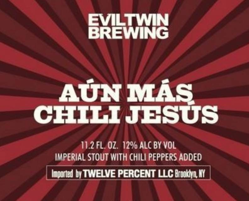 Evil Twin Aun Mas Chili Jesus (11.2oz can)