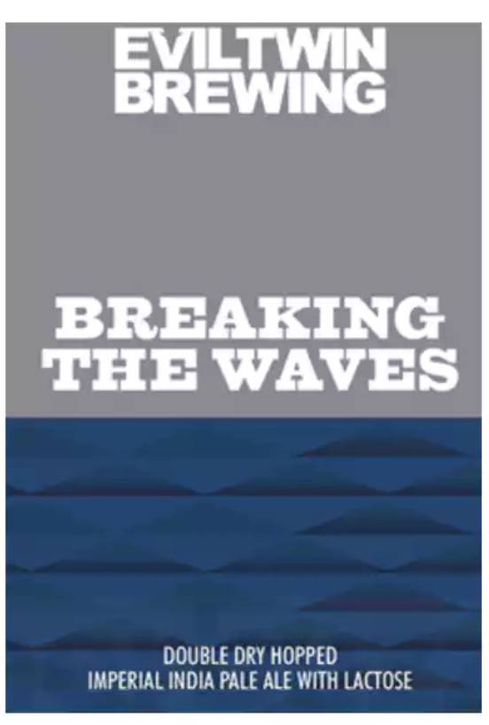 Evil Twin Breaking The Waves (4pk 16oz cans)