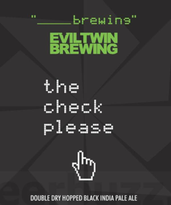 Evil Twin/Blank Brewing Check Please (4pk 12oz cans)