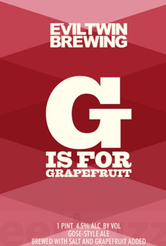 Evil Twin G is for Grapefruit (4pk 16oz can)