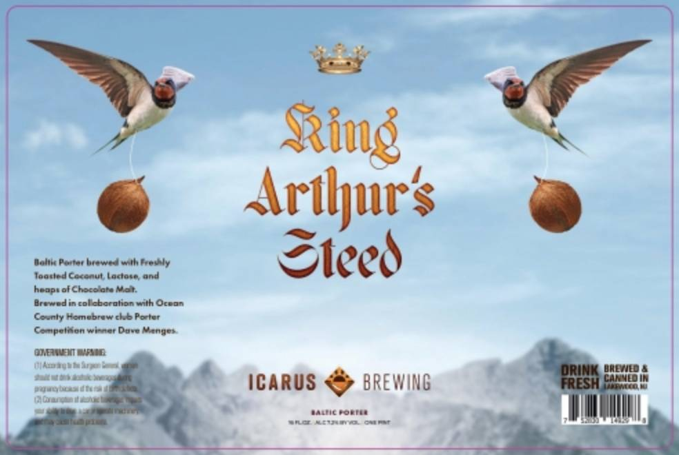 Icarus King Arthurs Steed (4pk 16oz cans)