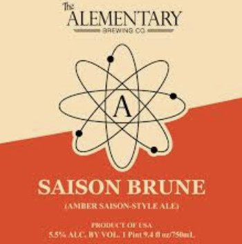 Alementary Saison Brune (750ml)