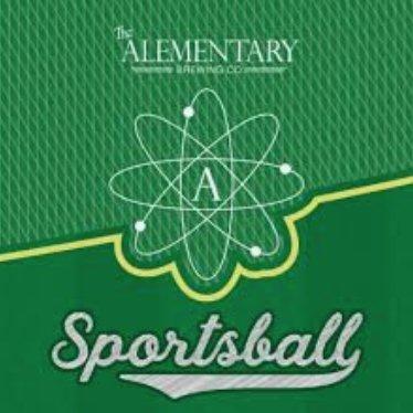 Alementary Sportsball DDH Pale Ale (6pk 12oz cans)